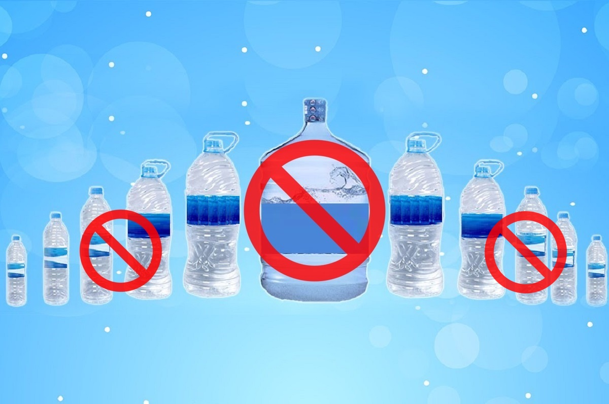 No Packaged Drinking Water